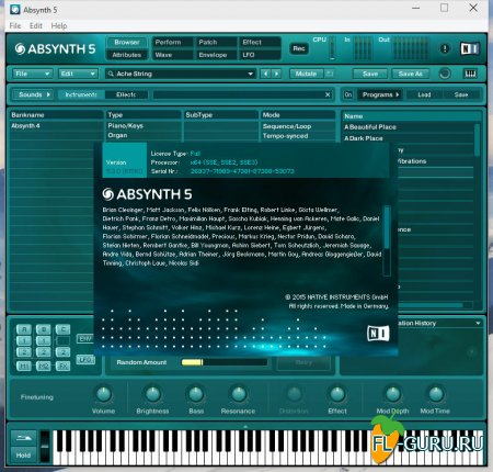 Native Instruments - Absynth 5.3.0 STANDALONE,  x86 x64 [05.2015]