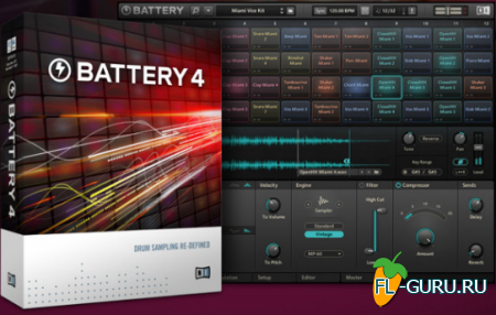 Native Instruments - Battery 4.1.5 STANDALONE,  x86 x64 [30.04.2015]