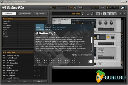 Native Instruments - Guitar Rig Pro 5.1.1 STANDALONE.VST.RTAS.AAX x86 x64 [2012]