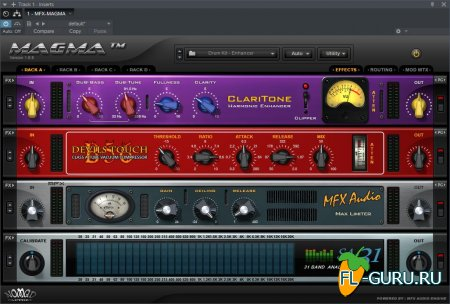 Nomad Factory - MAGMA 1.6.6 VST, RTAS, AAX x86 x64 [24.07.2015]