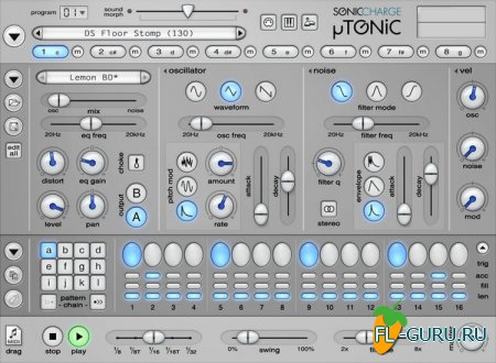 Sonic Charge Microtonic 3.1.0 VST WIN.OSX x86 x64 [17.05.2013]