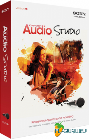 Sony - Sound Forge Audio Studio 10.0 Build 252 x86 [2013, ML/RUS]
