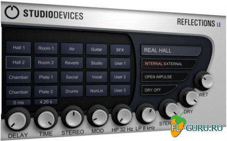 Studiodevices - Reflections LE 1.2 VST x86 [10.10.2010, ENG]
