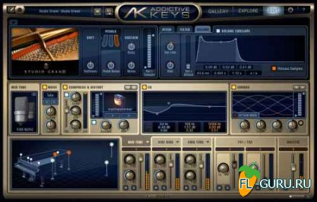 XLN Audio - Addictive Keys 1.1.1 STANDALONE, VSTi x86 x64 [2014]