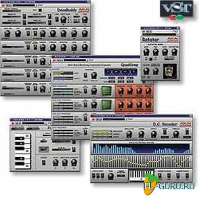 AKAI Professional - Plugins Bundle 1.02 VST x86 [2013]