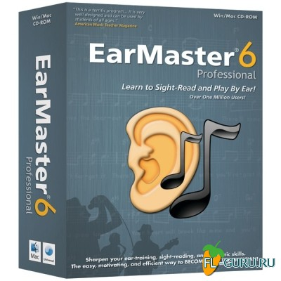 EarMaster Pro 6.2 build 654PW x86 [10.2015, MULTILANG +RUS]