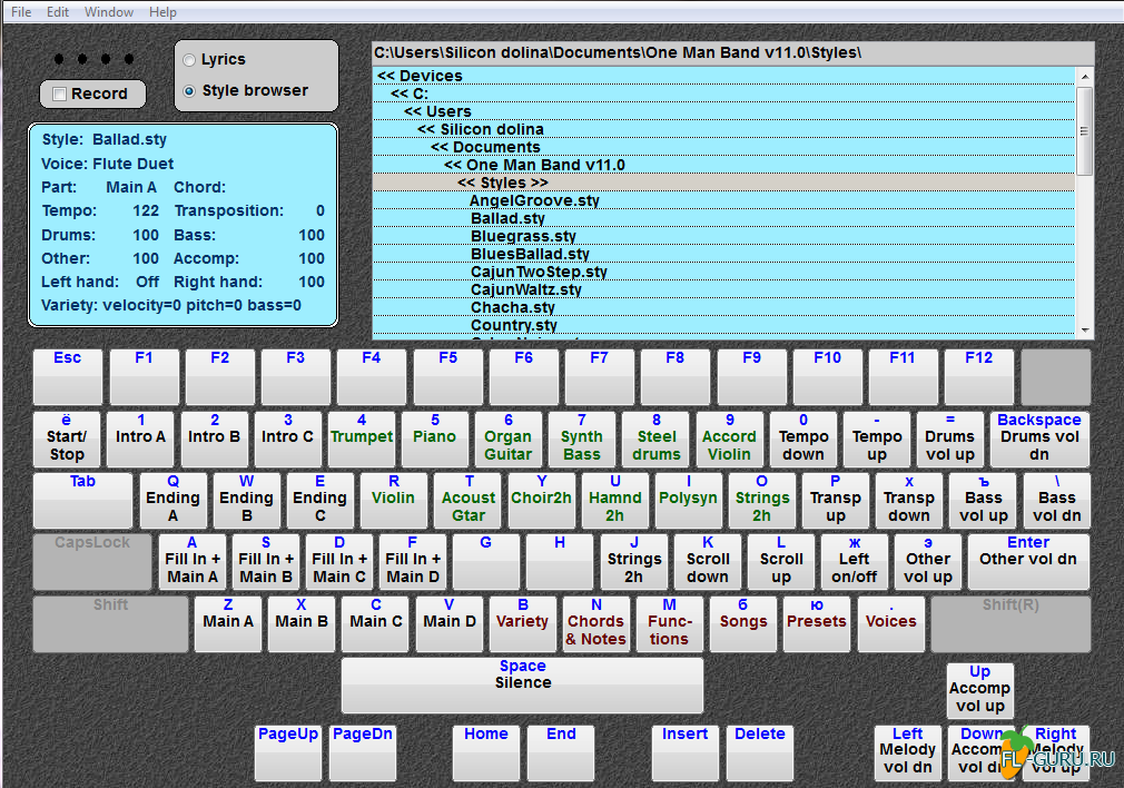one man band software demo Free one man band demo 101 download multimedia tools downloads - one man band by jm software and many more programs are available for instant and free download.
