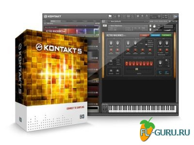 Native Instruments - Kontakt 5.4.3 STANDALONE, VSTi x86 x64 UPDATE ONLY [01.2015]
