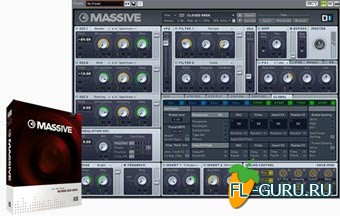 Native Instruments Massive 1.5.1 WIN.MacOSX Update x86/x64
