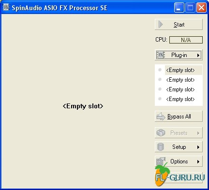 SpinAudio ASIO FX Processor SE 1.2