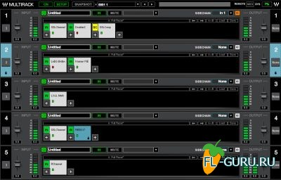 Waves - MultiRack Native And SoundGrid 9r14 x86 [03.2014, ENG]