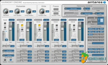 Antares - Harmony Engine EVO 3.00 VST.RTAS PC