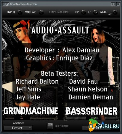 Audio-Assault - Grind Machine 1.5.5 VST, VST3, RTAS, AAX, AU WIN.OSX x86 x64 [08.2014]