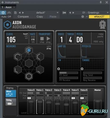 Audio Damage - Axon 1.3.0 VSTi x86 x64 [09.2015]