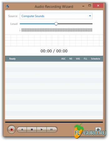 Audio Record Wizard 7.12 x86 [2014, ENG]