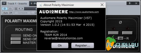 Audiomere - Polarity Maximizer 1.0.2 VST, RTAS, AU WIN.OSX x86 x64 [05.2015]