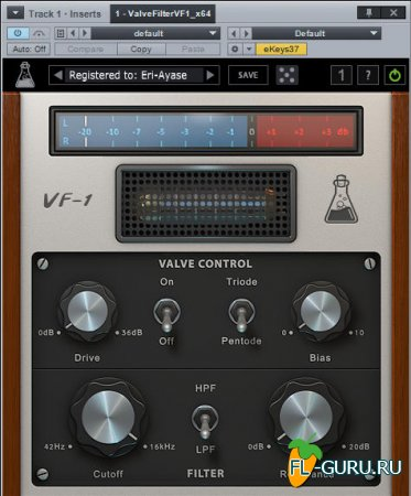 AudioThing - Valve Filter VF-1 1.3.0 VST, AAX, AU x86 x64 [11.2014]