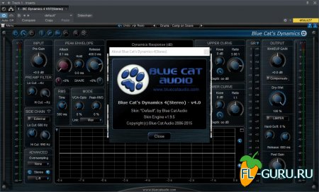 Blue Cat Audio - Dynamics 4 VST x86 x64 [10.2015]