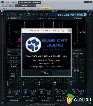 Blue Cat Audio - MB-7 Mixer 2.4 VST, RTAS x86 x64 [02.2015]