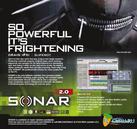Cakewalk - Sonar 2 XL + update to 2.2 x86 [2002, ENG]