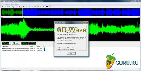 CD Wave Editor 1.98 0000.1772 x86 + portable [2009, ENG]
