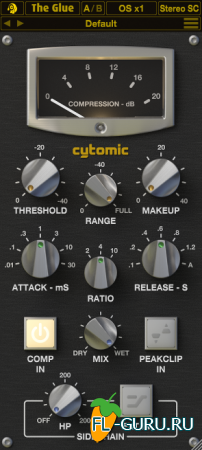 Cytomic - The Glue 1.3.12 VST x86 x64 [2015]
