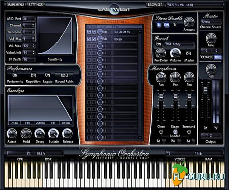 East West - Quantum Leap FREE Orchestra Play Edition 1.2.5 х32+х64bit