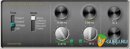 Elements - Clean Chorus 2.0 VST x86 [2012, ENG]