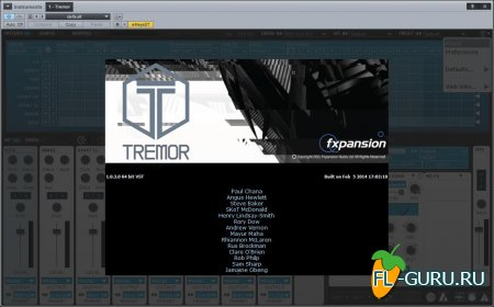 FXpansion - Tremor 1.0.3.0 VSTi, RTAS, AU WIN.OSX x86 x64 [05.02.2015]