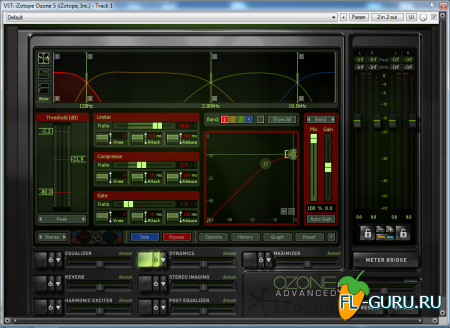 iZotope - Ozone Advanced 5.04 VST, VST3, RTAS, AAX WIN.OSX x86 x64 [01.07.2013]
