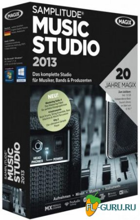 Magix - Samplitude Music Studio 2013 19.0.1.18 x86 [2012, ENG]