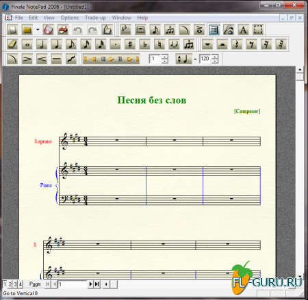 MakeMusic - Finale NotePad 2006.r1