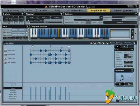 Meldaproduction - Mdrummer 4.00 Large STANDALONE.VSTi.VST3 x86 x64 [2011, ENG]