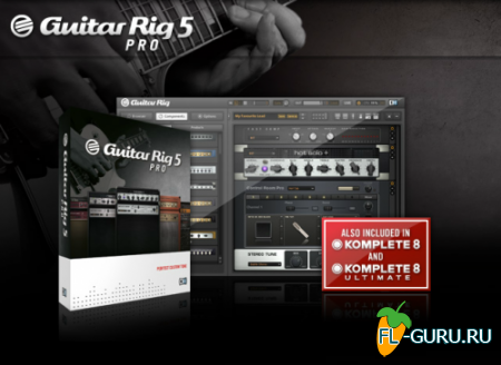 Native Instruments - Guitar Rig Pro 5.1.0 STANDALONE.VST.RTAS.AU WIN.OSX x86 x64 [22.03.2012]