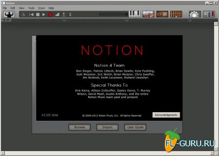 Notion 4.0.325 x86 x64 [2013, ENG]