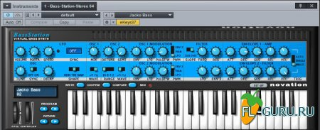 Novation - Bass Station 2.1 VSTi, AU x86 x64 [10.2014]