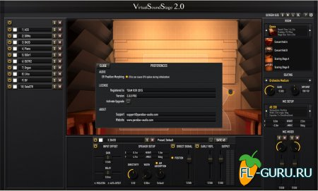 Parallax-Audio - Virtual Sound Stage Pro 2.0 x86, x64 [2014]