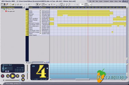 Perspective Software - MIDI Maestro 4.00.14 [2004, ENG]
