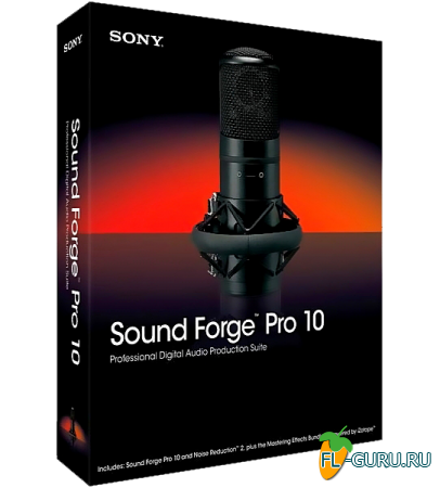 Sony - Sound Forge Pro 10.0e Build 507 PORTABLE [2013, RUS]