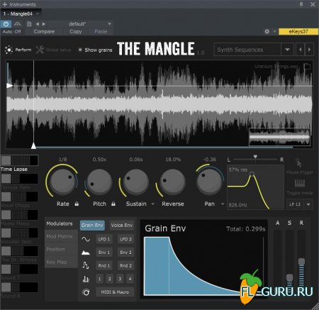 Sound Guru - The Mangle 1.0 VSTi, AU WIN.OSX x86 x64 [10.2015]