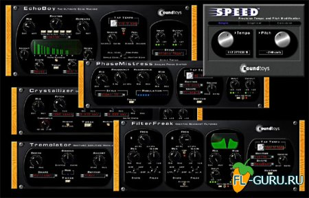 SoundToys Native Effects 4.1.8 VST, x86 [2012]