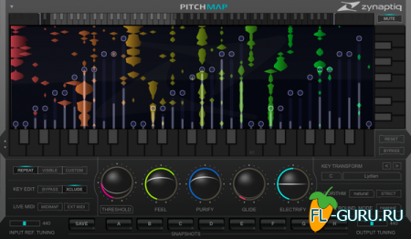 Zynaptiq - UNFILTER, UNVEIL, PITCHMAP VST x86 x64 [2014]