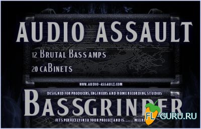 Audio-Assault - BassGrinder 1.04 VST, RTAS, AU WIN.OSX x86 x64 [17.05.2014]
