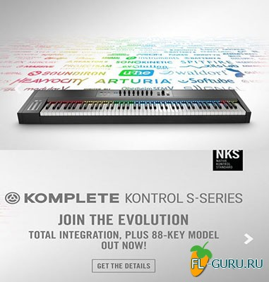 Native Instruments - Native Instruments Komplete Kontrol 1.5.0 WiN UPDATE 1.5.0 R3065 , AU x86 x64 [20.10.2015]