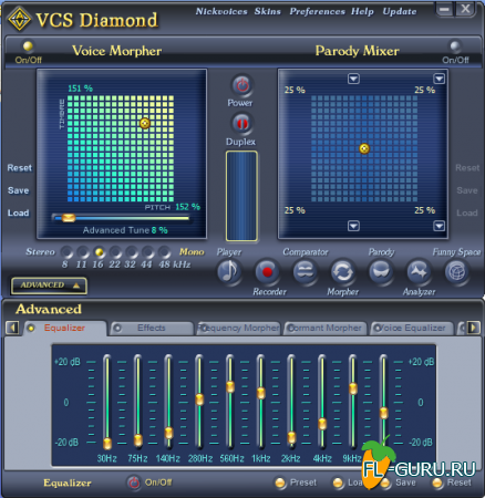Audio4Fun - AV Voice Changer Software Diamond 7.0.54 x86 [2013, ENG]