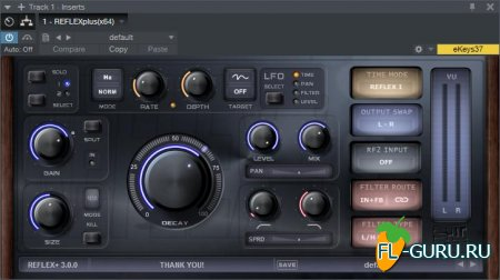 STW Audio - REFLEX Plus 3.0 VST, VST3, AU WIN.OSX x86 x64 [11.2015]