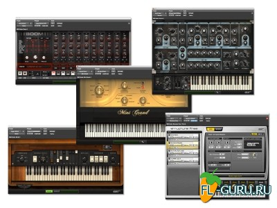 Avid - First AIR Instruments Bundle 12.0 AAX x64 [12.2015]