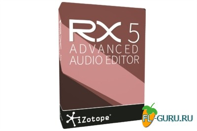 iZotope - RX 5.01 Advanced Audio Editor x86 x64 [11.2015, ENG]