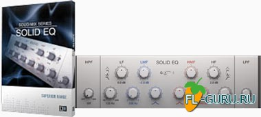 Native Instruments Solid EQ FX 1.3.0 Update x86/x64