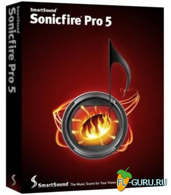 SmartSound Sonicfire Pro 5.6.0.0 [2010, ENG]